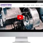 Zanzottera Website Online
