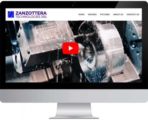Zanzottera Website Online